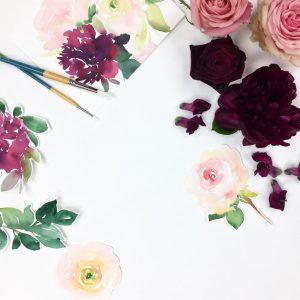 Blooms & Watercolours Workshop