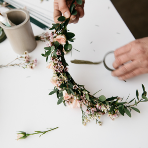 Living Fresh Floral Crown Workshop