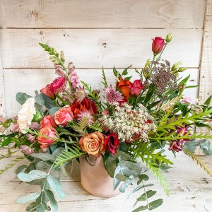 Living Fresh Flower and Plant Studio - Big Love Floral Vase Arrangement