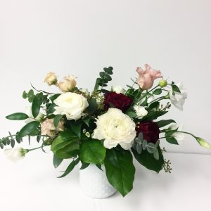 Living Fresh Flower Studio - Valentine's Day Vase Arrangement - Small