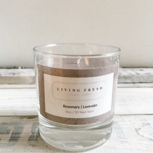 Living Fresh - 100% Essential Oil and Soy Wax Candles