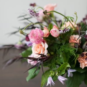 Living Fresh - Summer Garden Centrepiece Flower Class