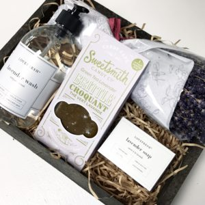 Living Fresh Lavender Gift Box