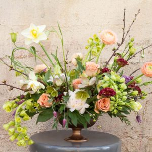 Living Fresh - Spring Centrepiece Flower Class