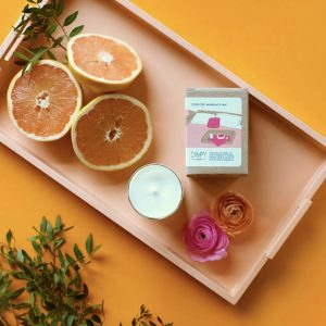 Living Fresh Flower and Plant Studio - Campy Candle
