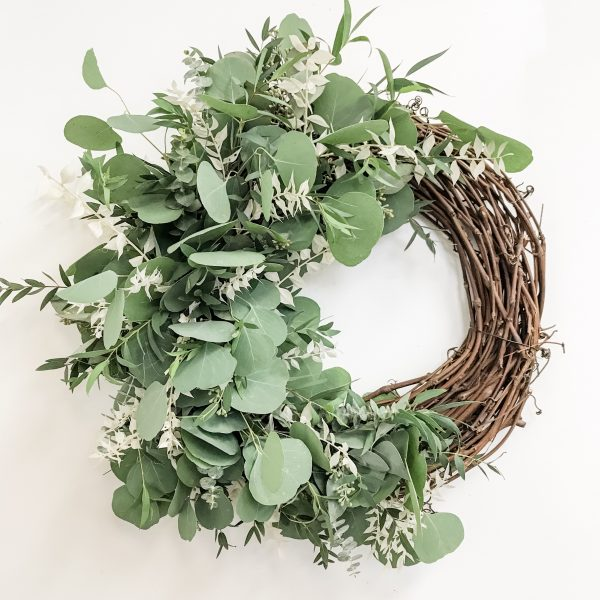 Living Fresh - Mixed Eucalyptus Wreath