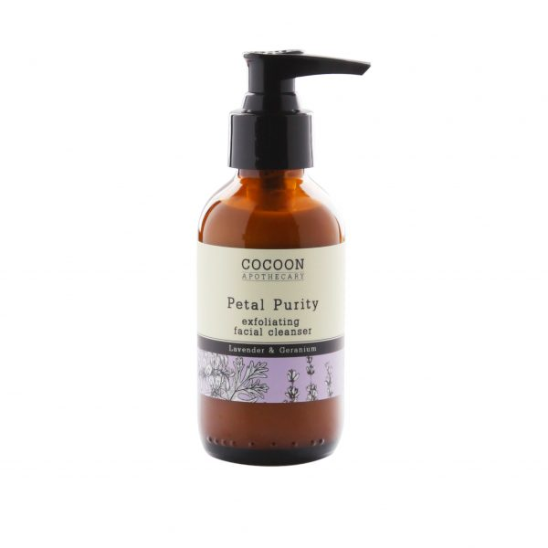Living Fresh - Cocoon Apothcary - Petal Purity Exfoliating Facial Cleanser
