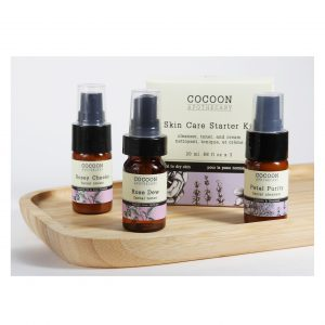 Living Fresh - Cocoon Apothcary - Skin Care Starter Kit