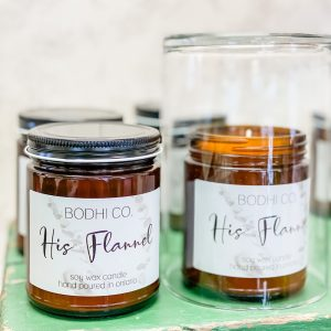 Living Fresh - Bodhi. Co Candles - His Flannel