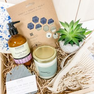 Living Fresh Flower and Plant Studio - Deluxe Zero Waste Gift Box