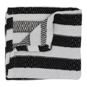 Living Fresh Turkish Wash Cloth Ebony