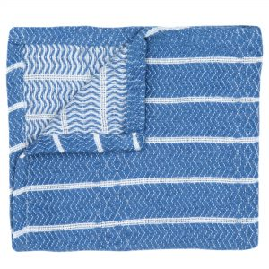Living Fresh Turkish Wash Cloth BlueMoon