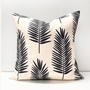 Living Fresh Flower and Plant Studio - Toss Pillow Covers - Palm Leaf