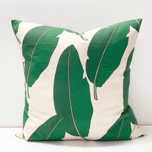 Living Fresh Flower and Plant Studio - Toss Pillow Cover - Banana Leaf