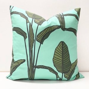 Living Fresh Flower and Plant Studio - Toss Pillow Cover - Bird of Paradise