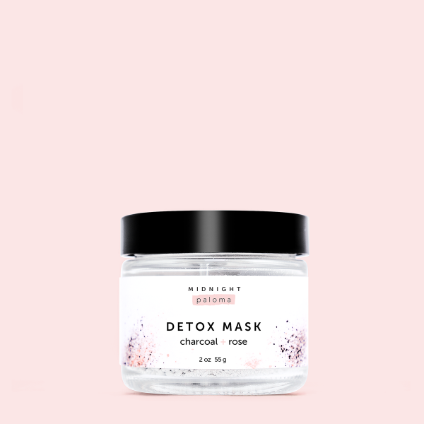 Living Fresh Flower and Plant Studio - Charcoal and Rose Detox Mask