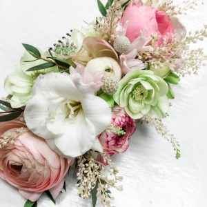 Living Fresh Flower and Plant Studio - Floral Hair Piece