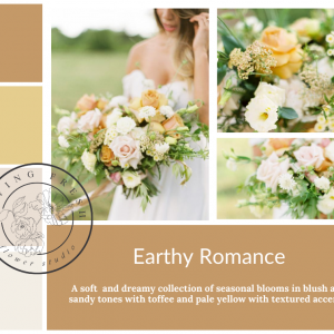 Living Fresh Flower and Plant Studio - Earthy Romance