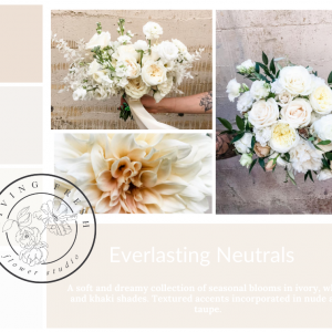Living Fresh Flower and Plant Studio - Everlasting Neutrals