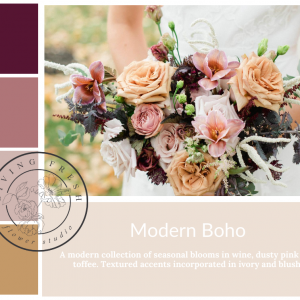 Living Fresh Flower and Plant Studio - Modern Boho