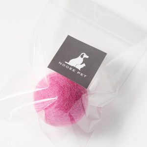 Living Fresh Flower and Plant Studio - Pet Toy Balls - 6cm Pink