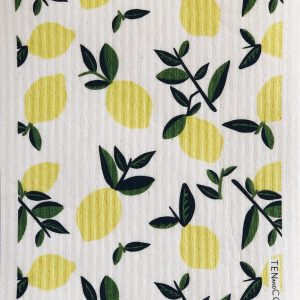 Living Fresh - Ten and Co - Sponge Cloth Citrus-Lemon