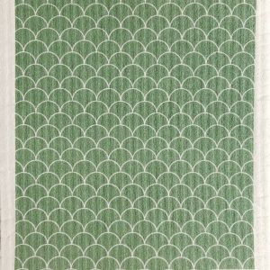 Living Fresh - Ten and Co - Sponge Cloth Sage Scallop