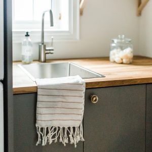 Living Fresh Mini Turkish Towel Dove
