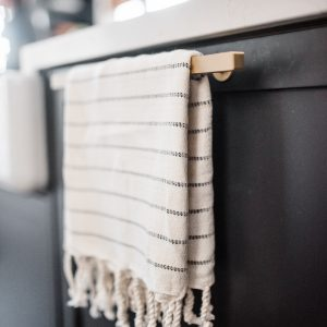 Living Fresh Mini Turkish Towel Onyx