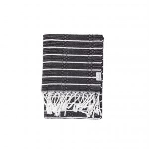 Living Fresh Mini Turkish Towel Raven
