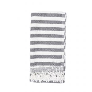Living Fresh Oversized Turkish Towel Slate