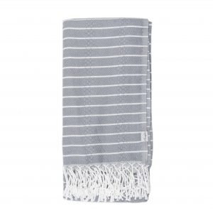 Living Fresh Oversized Turkish Towel Stone
