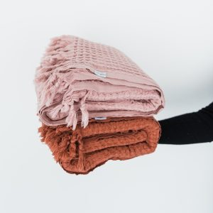 Living Fresh - Piccola_Waffle_Blanket_Turkish_Cotton