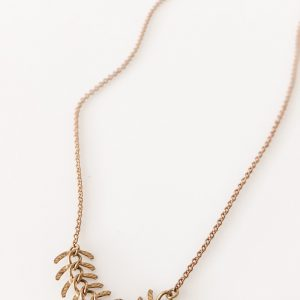 Living Fresh Flower and Plant Studio - Fishbone Brass Choker
