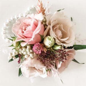 Living Fresh Flower and Plant Studio - Wrist Corsage