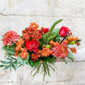 Living Fresh Flower and Plant Studio - Fall Hand-tied Bouquet
