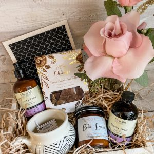 Living Fresh Flower and Plant Studio - Signature Staycation Gift Box