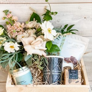 Living Fresh Flower and Plant Studio - Signature Good Vibes Gift Box
