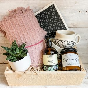 Living Fresh Flower and Plant Studio - New Home Gift Box