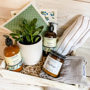 Living Fresh Flower and Plant Studio - Deluxe Clean Living Gift Box