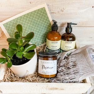 Living Fresh Flower and Plant Studio - Signature Clean Living Gift Box