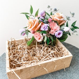 Living Fresh Flower and Plant Studio - Build Your Own Gift Box - Vase Arrangement