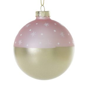 Living Fresh Flowers and Plants - Stargazer Ball Ornament - Pink