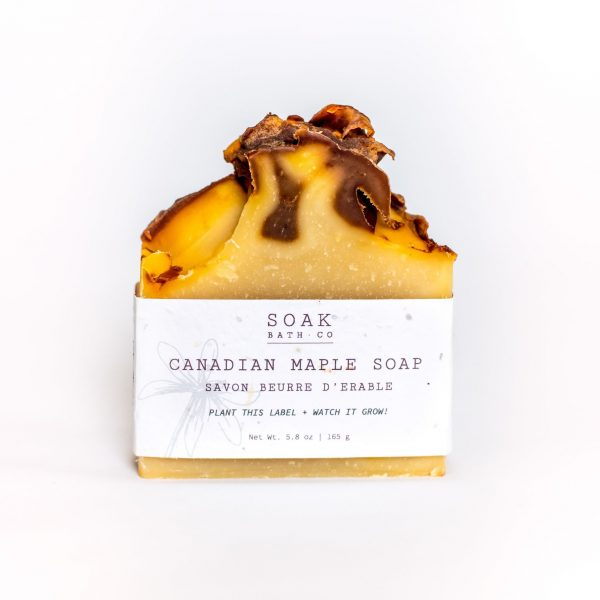 Living Fresh Flower and Plant Studio - Canadian Maple Soap Bar