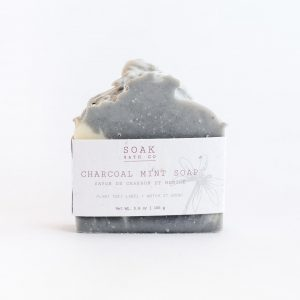 Living Fresh Flower and Plant Studio - Charcoal Lavender Soap Bar