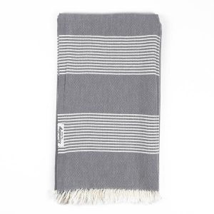 Living Fresh Flower and Plant Studio - Sunday Dry Goods - Everyday Turkish Towel - Charcoal