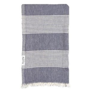 Living Fresh Flower and Plant Studio - Sunday Dry Goods - Everyday Turkish Towel - Navy