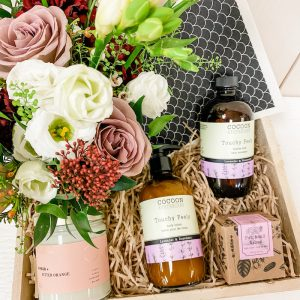 Living Fresh Flower and Plant Studio - Deluxe Local Luxury Gift Box