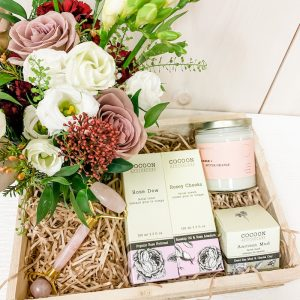 Living Fresh Flower and Plant Studio - Treat Yourself Gift Box