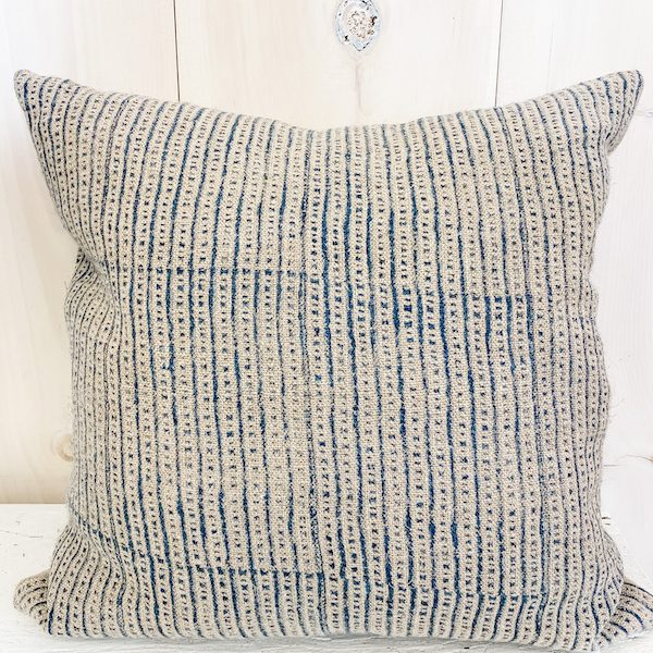Living Fresh Flower and Plant Studio - Raw Linen Toss Pillow